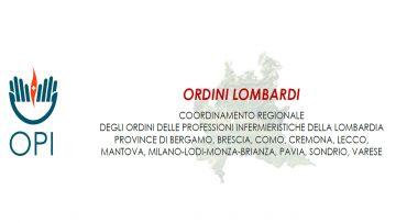 Lettera del Coordinamento degli Ordini lombardi al Presidente Attilio Fontana: non esiste Sanità senza Infermieri